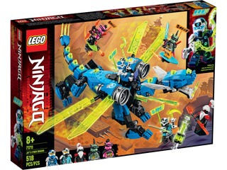 LEGO 71711 JAYS CYBER DRAGON | LEGO | Toyworld Frankston