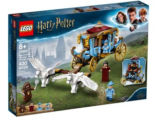 LEGO 75958 HARRY POTTER LEGO BEAUXBATONS CARRIAGE ARRIVAL AT HOGWARTS | Toyworld Frankston | Toyworld Frankston