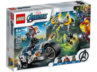 LEGO 76142 AVENGERS SPEEDER BIKE ATTACK | Toyworld Frankston | Toyworld Frankston