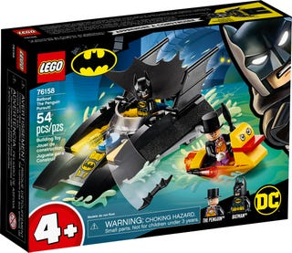 LEGO 76158 BATBOAT THE PENGUIN PURSUIT!