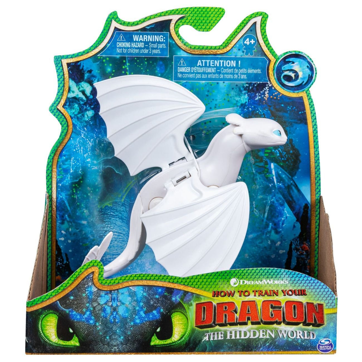 HOW TO TRAIN YOUR DRAGON THE HIDDEN WORLD BASIC ASSORTMENT LIGHTFURY