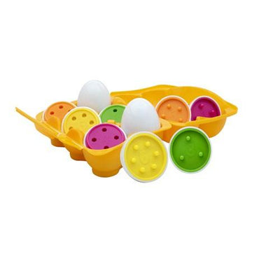 PLAY AND LEARN EGGSTER COUNT & MATCH EGGS