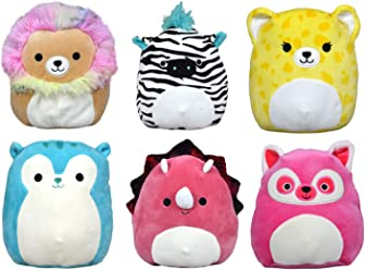 SQUISHMALLOWS 5 INCH BRIGHT ASST