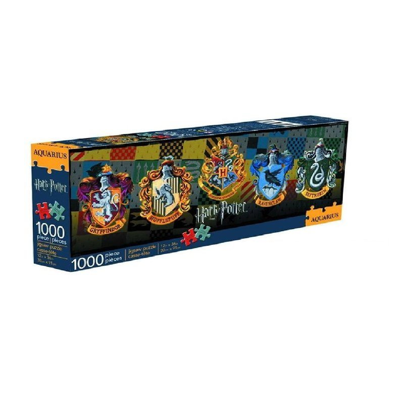 HARRY POTTER CREST 1000PC SLIM PUZZLE