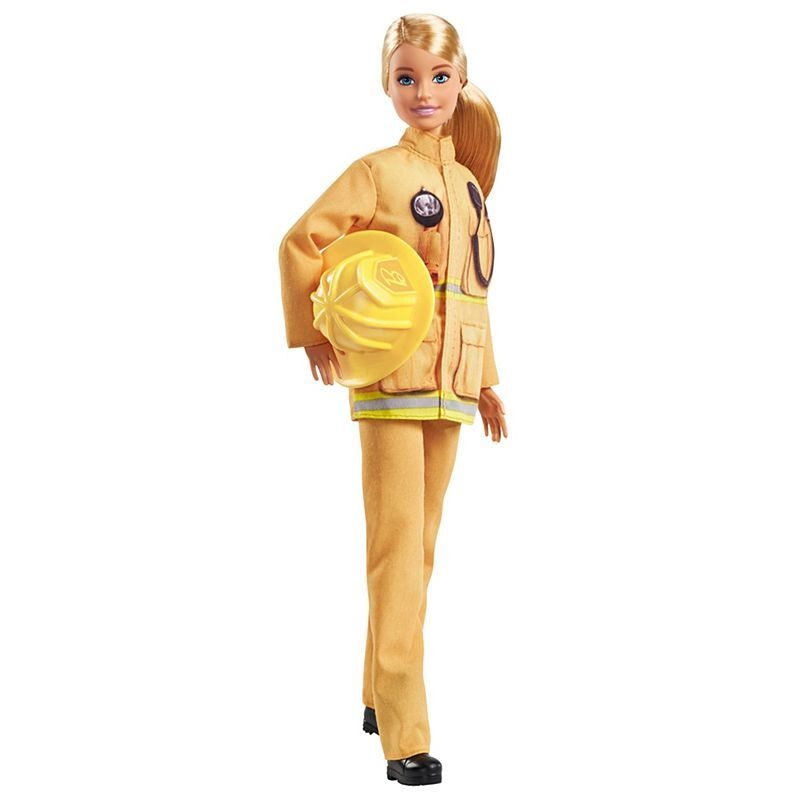 BARBIE 60TH ANNIVERSARY DOLL - FIRE FIGHTER