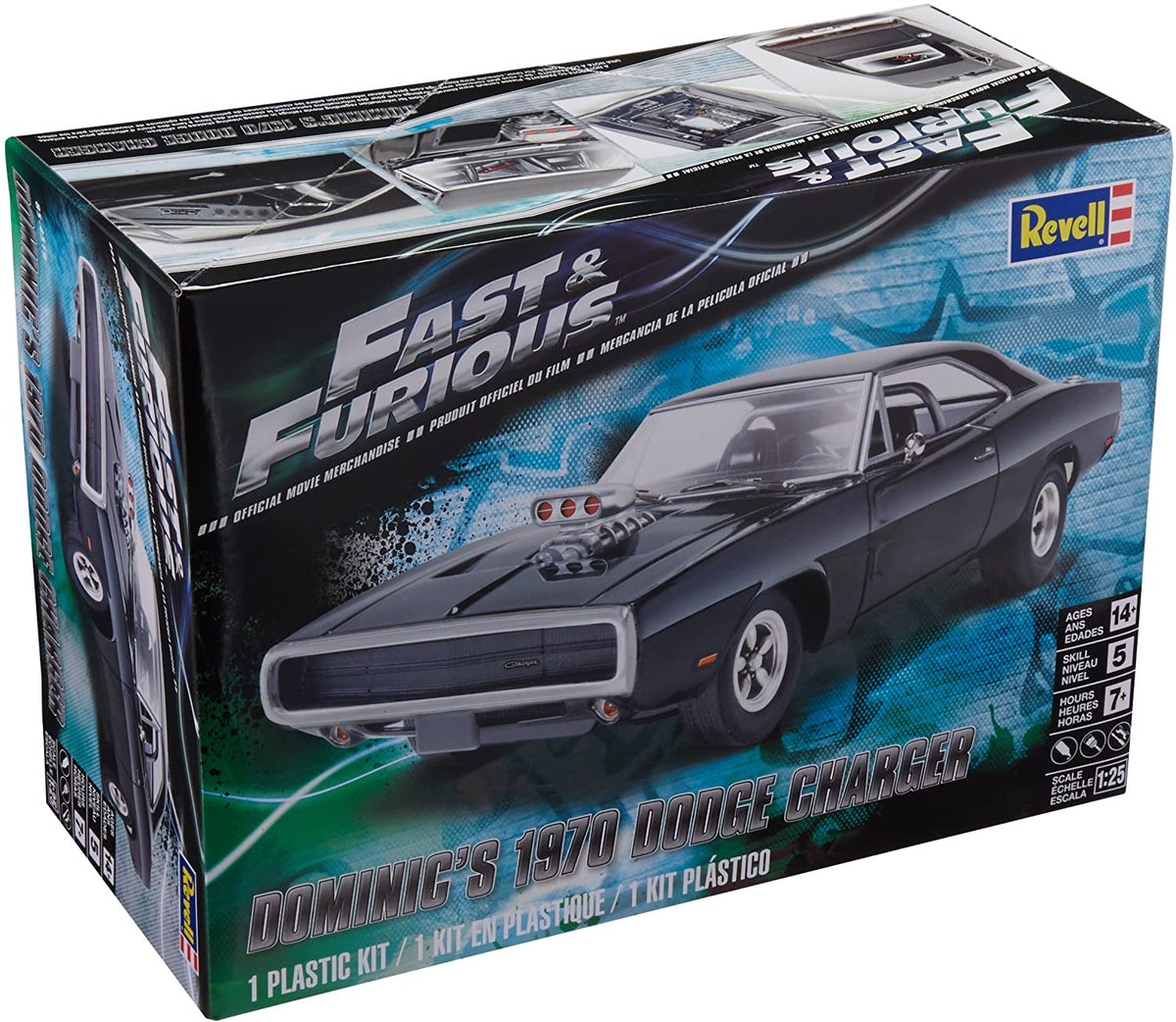 REVELL FAST AND FURIOUS DOMINICS 1970 DODGE CHARGER | REVELL | Toyworld Frankston
