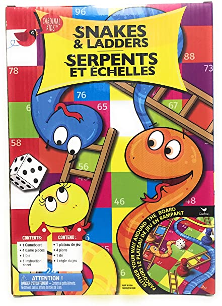 CARDINAL SNAKES AND LADDERS | CARDINAL GAMES | Toyworld Frankston