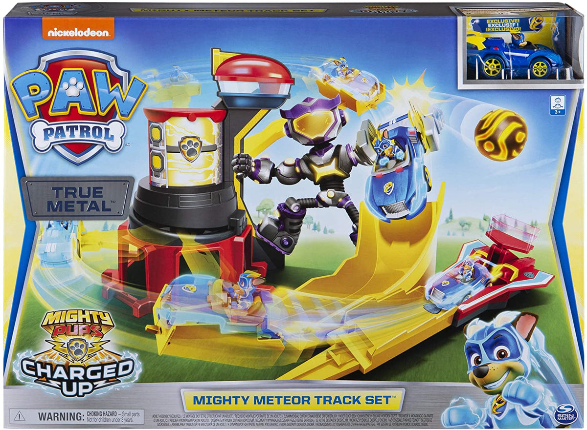 PAW PATROL MIGHTY PUPS: MIGHTY METEOR TRACK SET | PAW PATROL | Toyworld Frankston