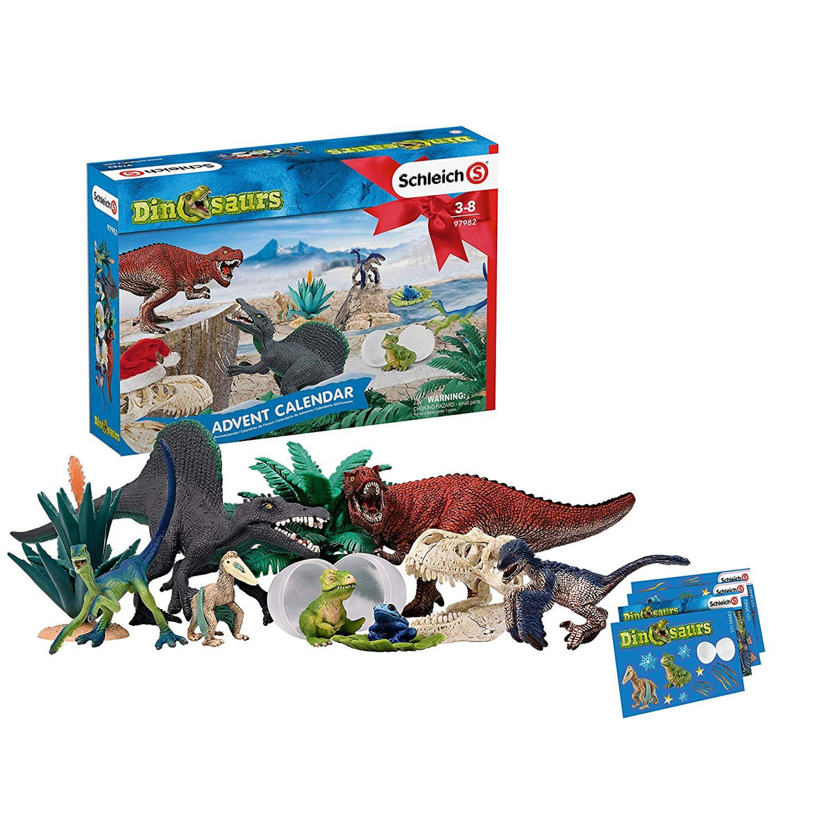 SCHLEICH DINOSAUR ADVENT CALENDAR