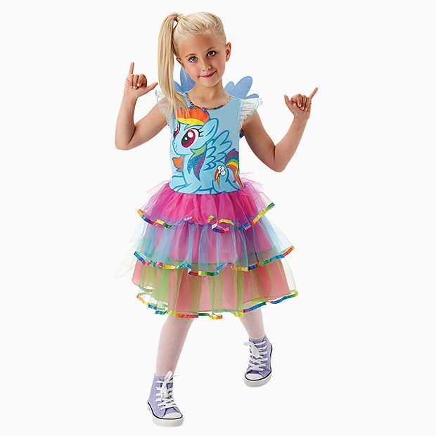MY LITTLE PONY RAINBOW DASH COSTUME - SIZE 3-5