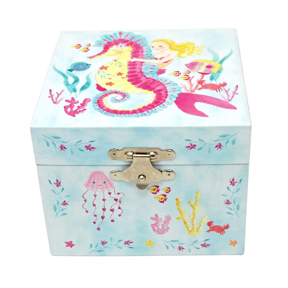 PINK POPPY WISH UPON A STARFISH MINI MUSIC BOX