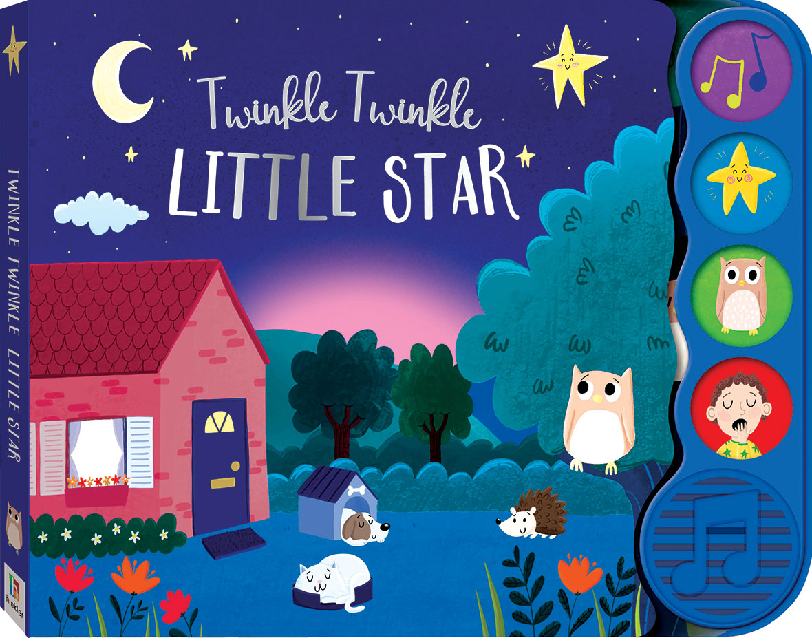 4 BUTTON SOUND BOOKS - TWINKLE LITTLE STAR