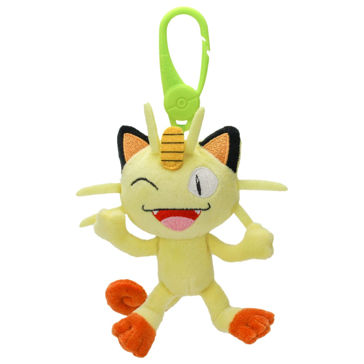 POKEMON PLUSH CLIP ON MEOWTH