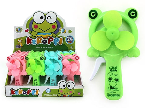 MANUAL FRICTION FAN FROG - Toyworld Frankston