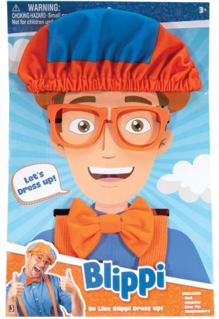 BLIPPI BE LIKE BLIPPI ROLE PLAY