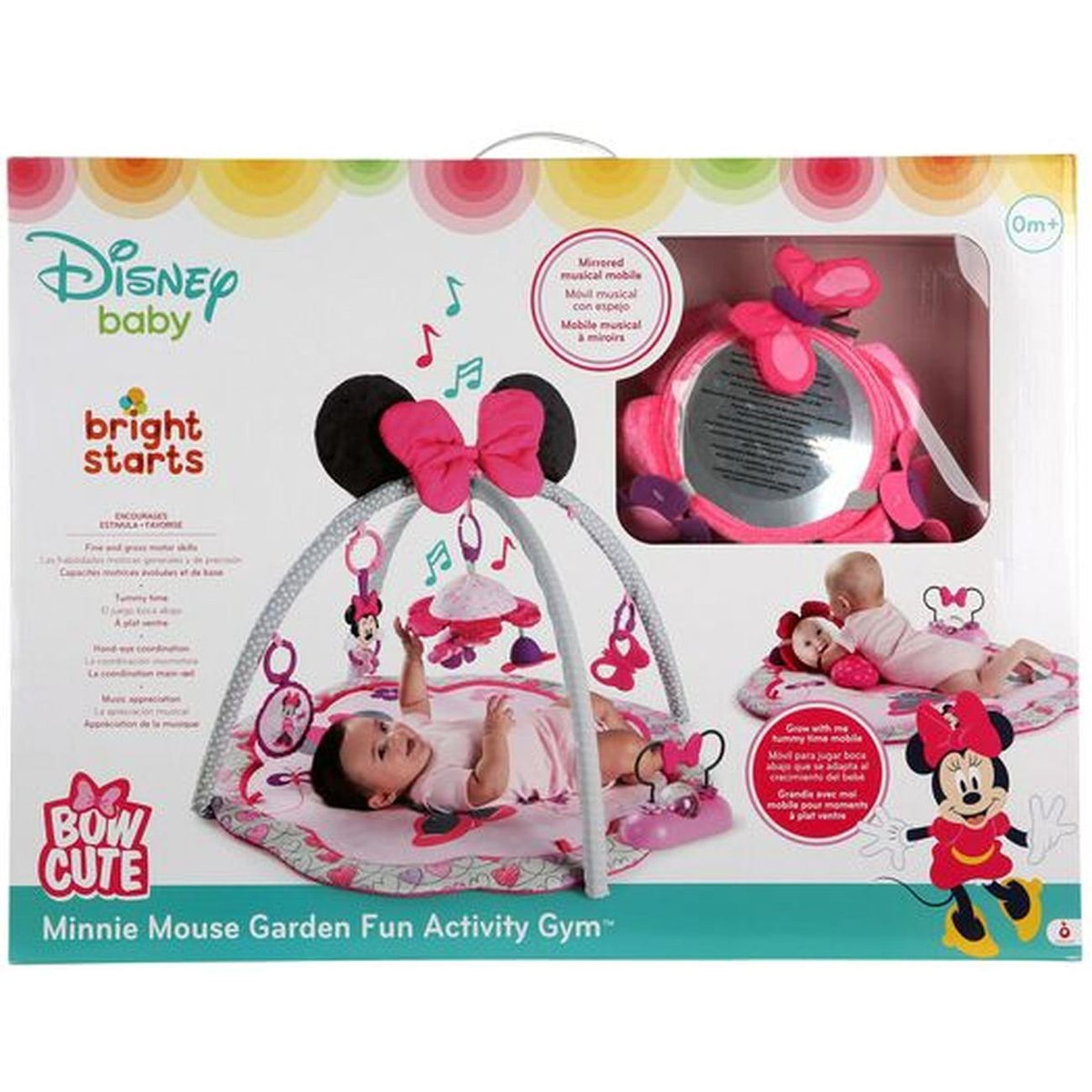BRIGHT STARTS MINNIE MOUSE ACTIVITY GYM