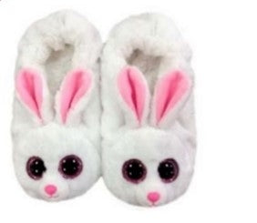 BEANIE BOO TY BUNNY SLIPPERS SMALL | TY BEANIES | Toyworld Frankston