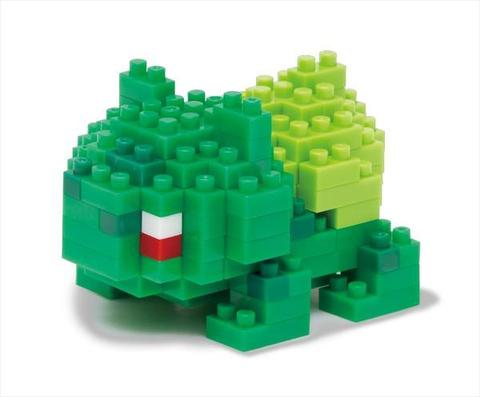NANOBLOCK POKEMON - BULBASAUR | Toyworld Frankston | Toyworld Frankston