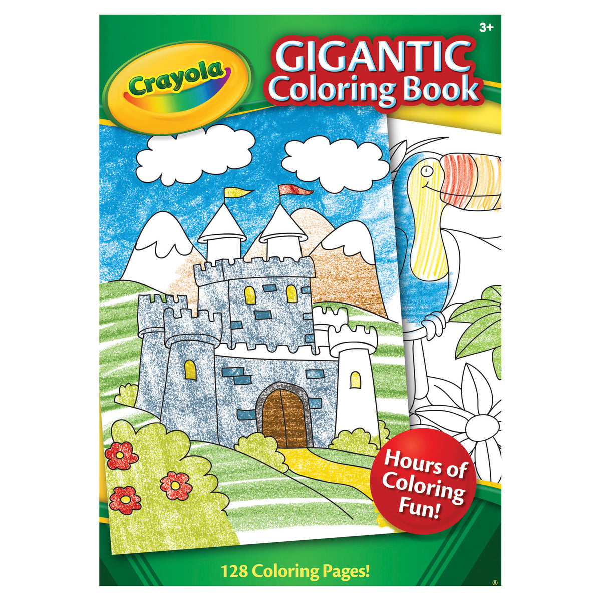 GIGANTIC COLORING BOOK 128PG | CRAYOLA | Toyworld Frankston