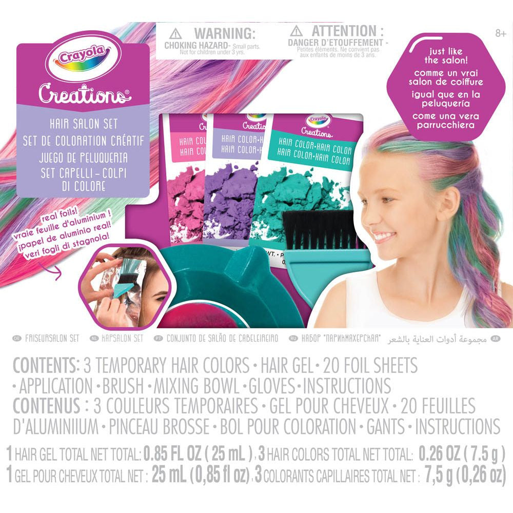 CREATION HAIR SALON SET | CRAYOLA | Toyworld Frankston