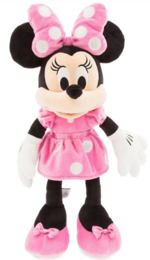 MINNIE MOUSE MEDIUM PLUSH WITH CHIME