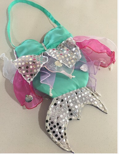 FAIRY GIRLS PEARL MERMAID BAG