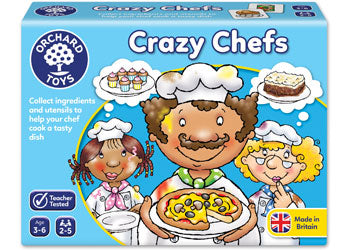 ORCHARD GAME - CRAZY CHEFS GAME | ORCHARD TOYS | Toyworld Frankston
