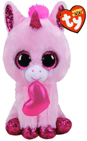 BEANIE BOOS VALENTINE DARLING UNICORN REG | Toyworld Frankston | Toyworld Frankston