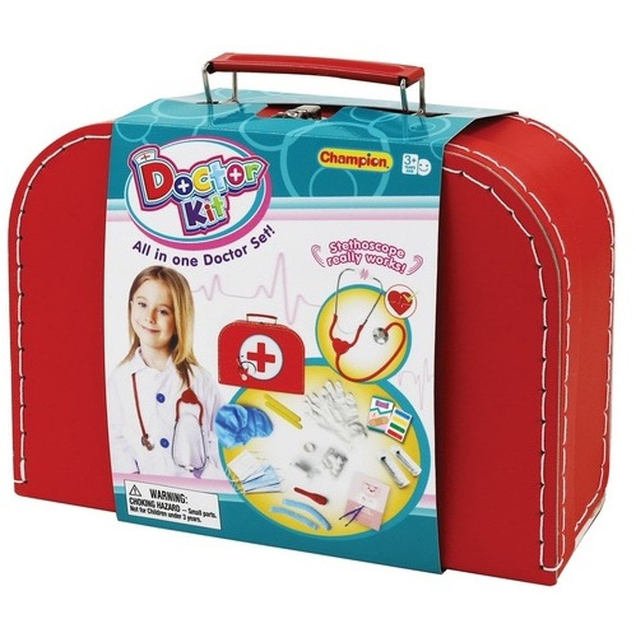 DOCTOR SET DELUXE CASE 26PC