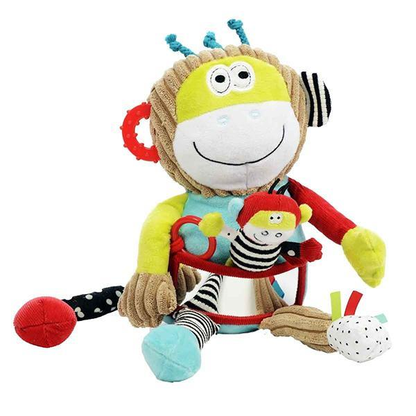 DOLCE TOYS - PLAY AND LEARN MONKEY