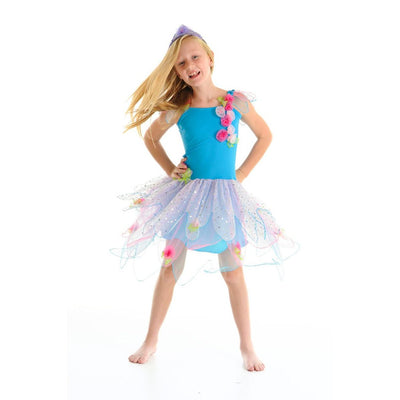 CRYSTAL FAIRY DRESS - TURQUOISE SMALL