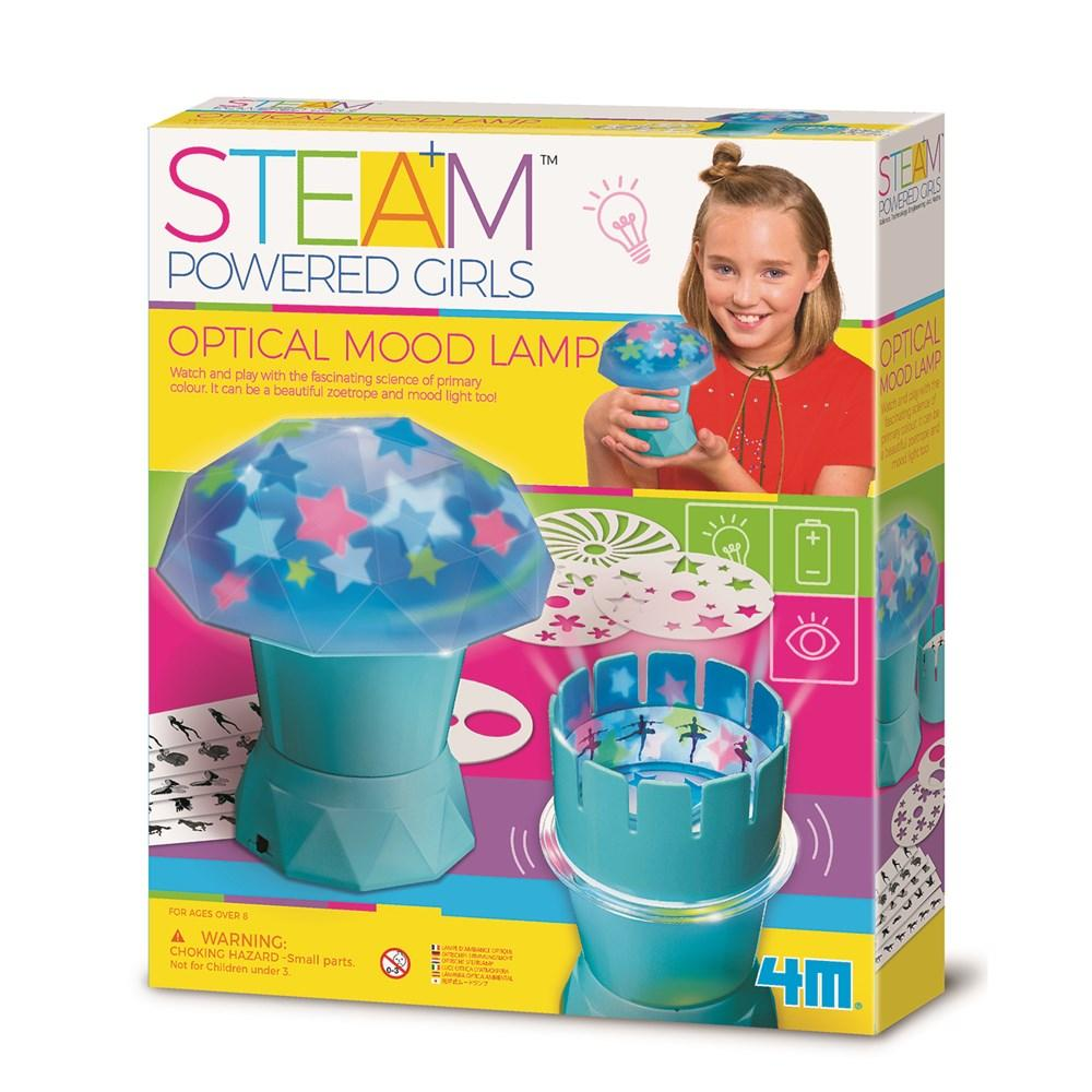 STEAM POWERED GIRLS - OPTICAL MOOD LAMP | Toyworld Frankston | Toyworld Frankston