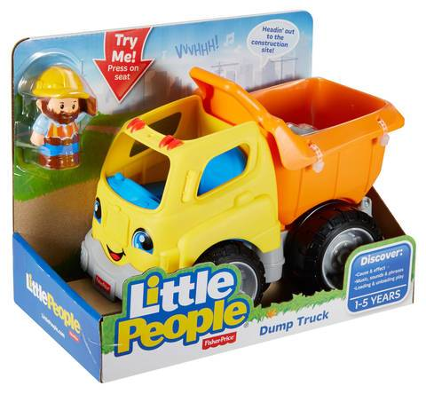 FISHER PRICE LITTLE PEOPLE VEHICLE & FIGURE SET