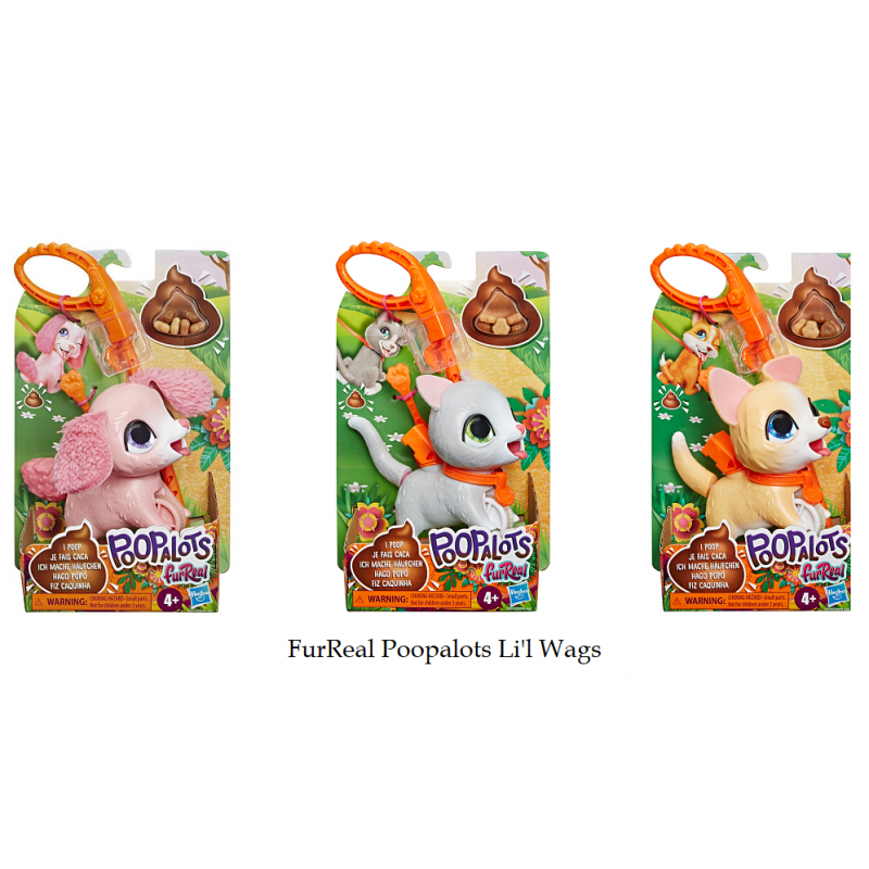 FUR REAL POOPALOTS LIL WAGS ASSORTMENT