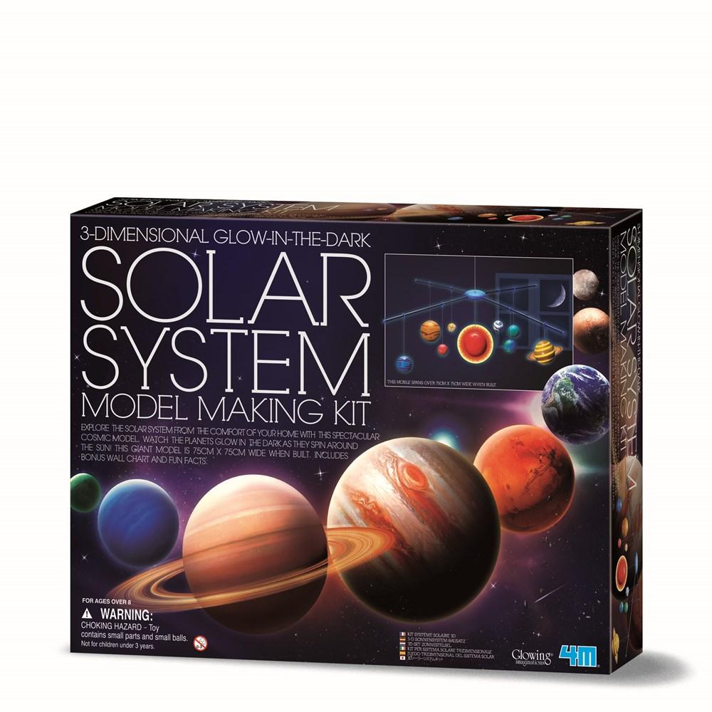 4M - SOLAR SYSTEM MOBILE KIT LARGE | 4M | Toyworld Frankston