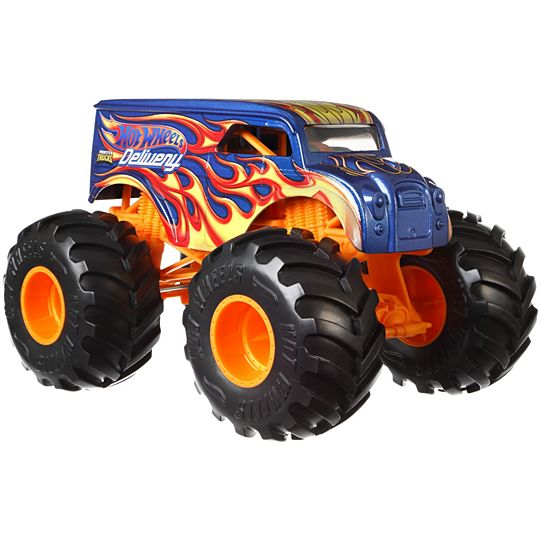 HOT WHEELS MONSTER TRUCKS 1:24 - HOT WHEELS DELIVERY