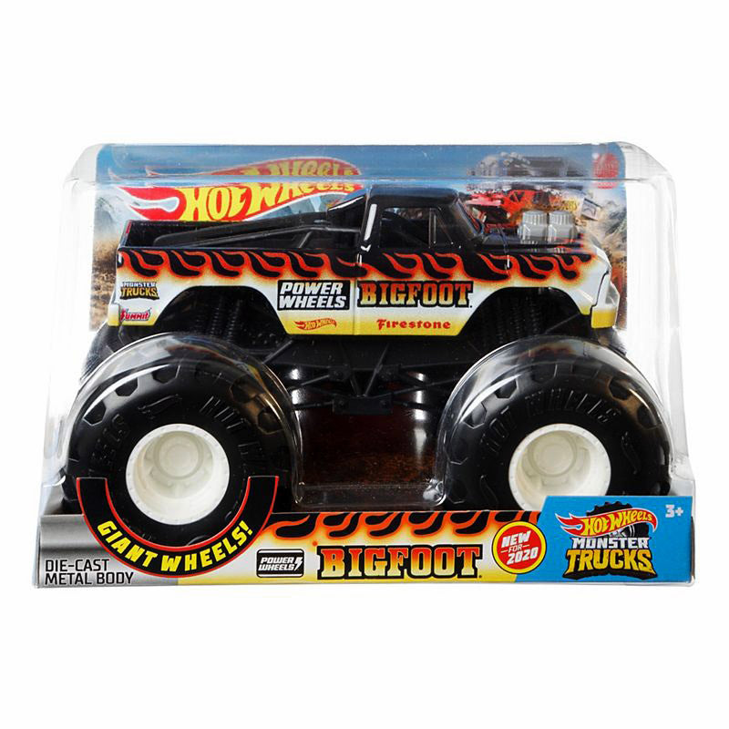 HOT WHEELS MONSTER TRUCKS 1:24 - BIGFOOT