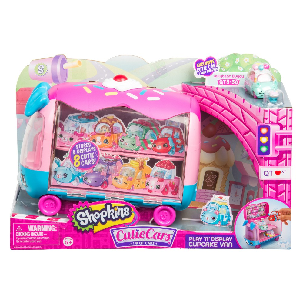 CUTIE CAR SHOPKINS S3 COLLECTOR VAN