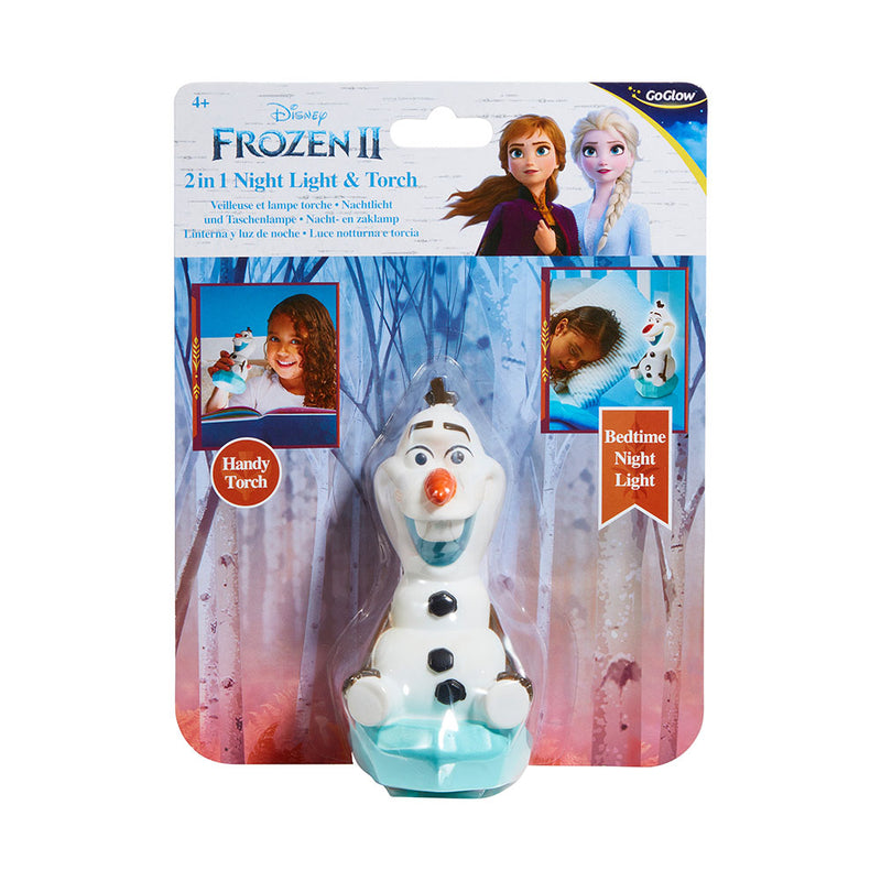 FROZEN 2 2 IN 1 NIGHT LIGHT AND TORCH