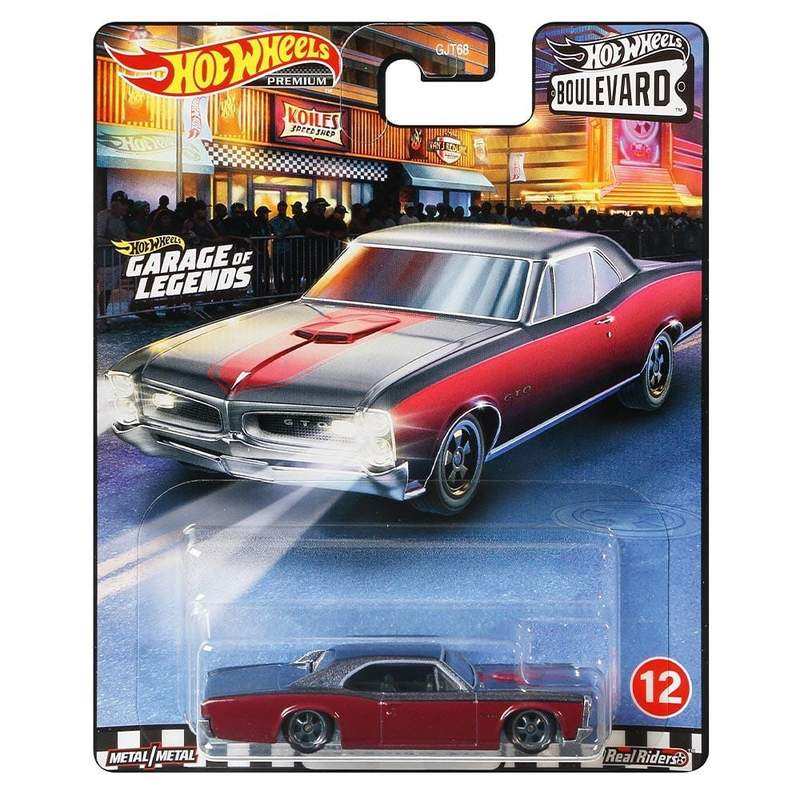 HOT WHEELS BOULEVARD - '66 PONTIAC GTO