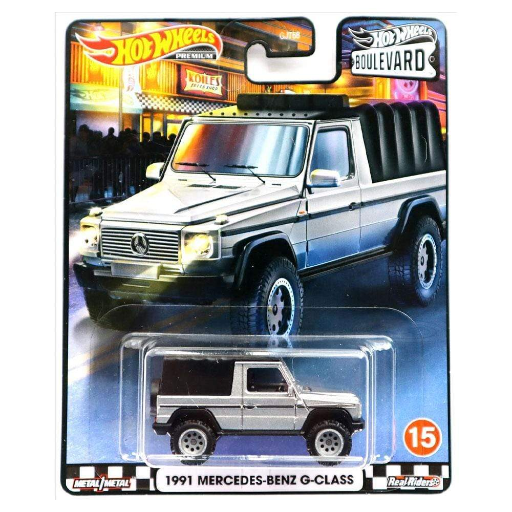 HOT WHEELS BOULEVARD - 1991 MERCEDES-BENZ G-CLASS