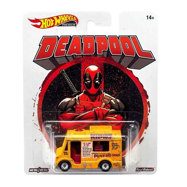 HOT WHEELS RETRO DEADPOOL