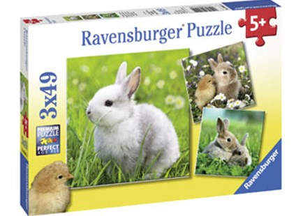 RBURG - CUTE BUNNIES PUZZLE