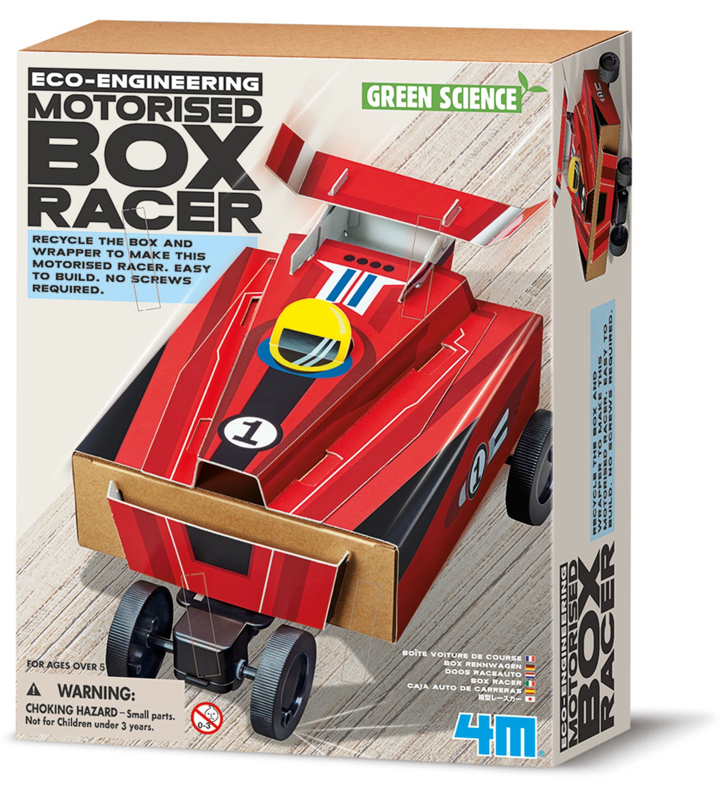 4M - BOX RACER - GREEN SCIENCE