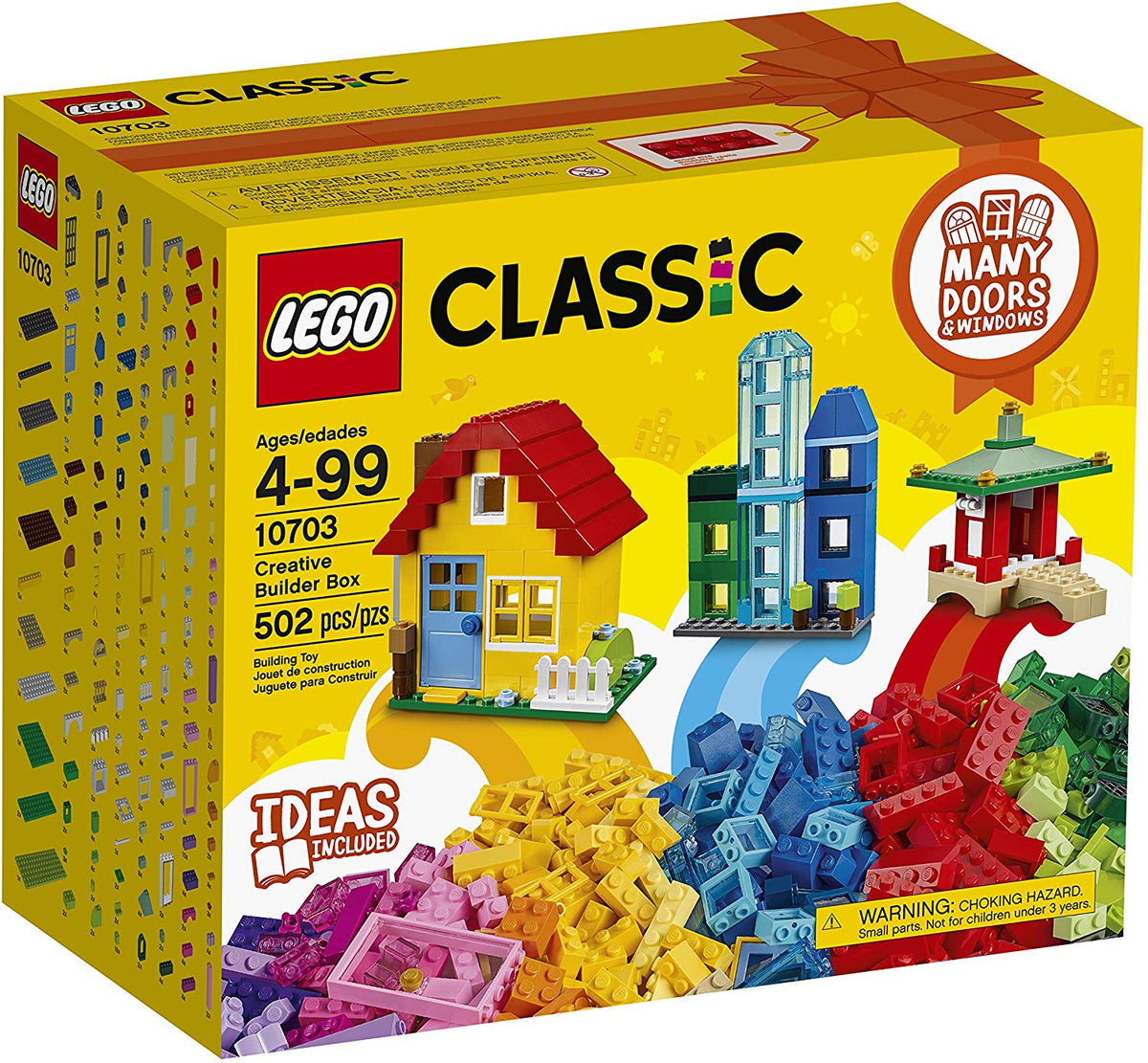 LEGO 10703 CREATIVE BUILDER BOX | LEGO | Toyworld Frankston