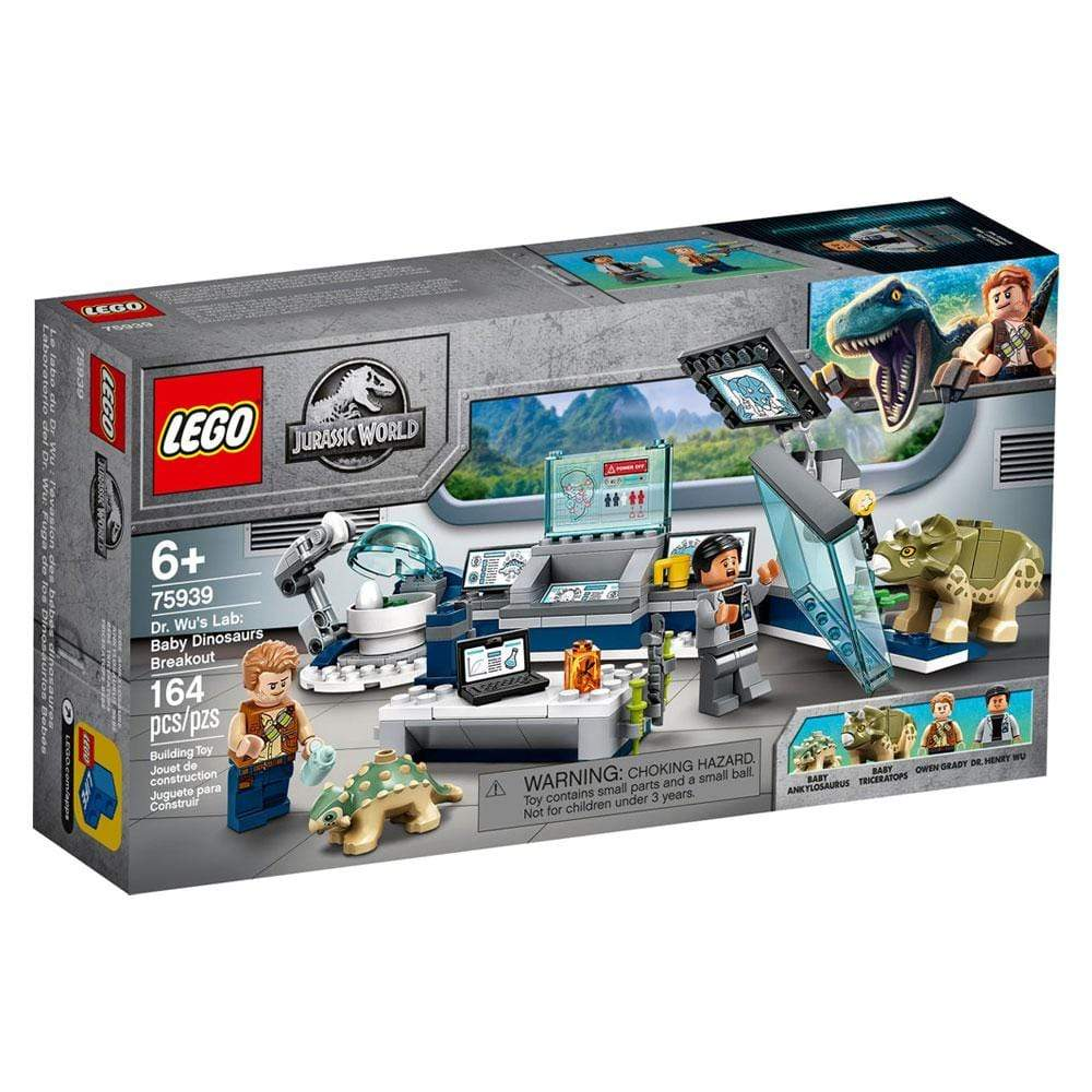 LEGO 75939 DR. WUS LAB: BABY DINOSAURS BREAKOUT?