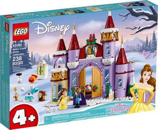 LEGO 43180 BELLES CASTLE WINTER CELEBRATION