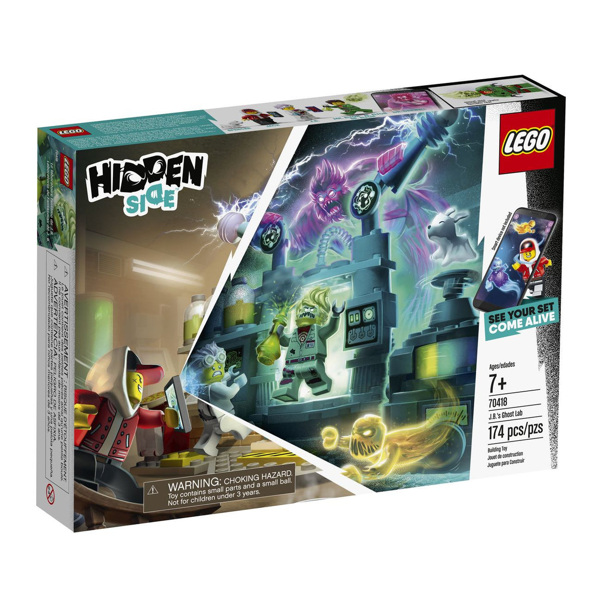 LEGO 70418 HIDDEN SIDE JBS GHOST LAB