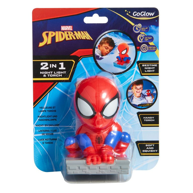 GO GLOW SPIDERMAN 2 IN 1 NIGHT AND TORCH