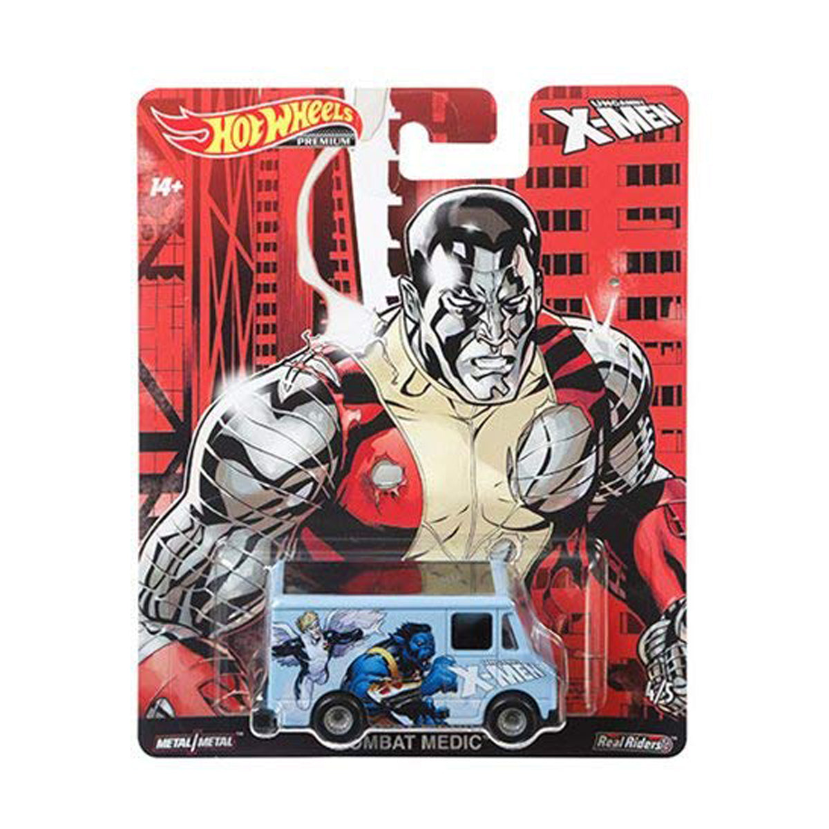HOT WHEELS POP CULTURE X-MEN - COMBAT MEDIC